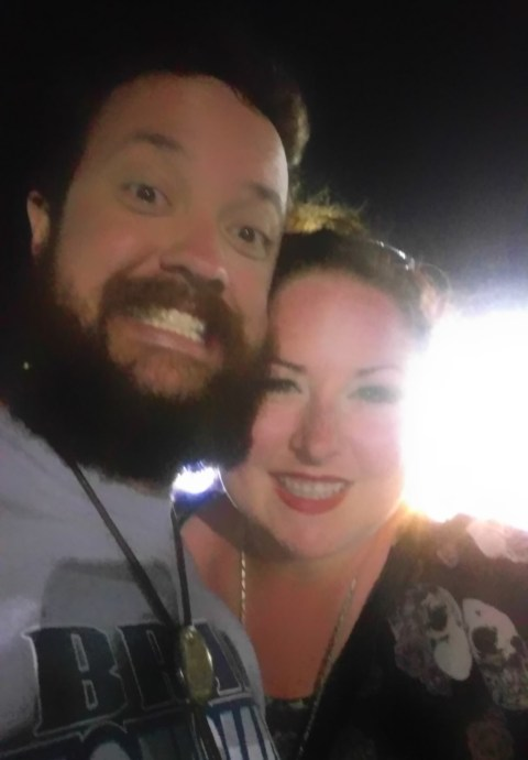 Busch Garage selfie!
