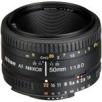 Nikon AF Nikkor 50mm f:1.8D Lens