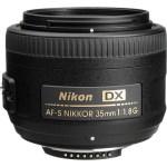 Nikon AF-S DX NIKKOR 35mm f:1.8G Lens-a