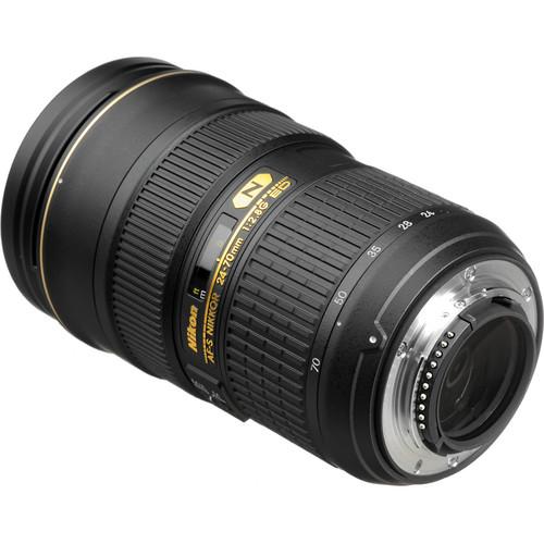 Nikon AF-S NIKKOR 24-70mm f:2.8G ED Lens-c