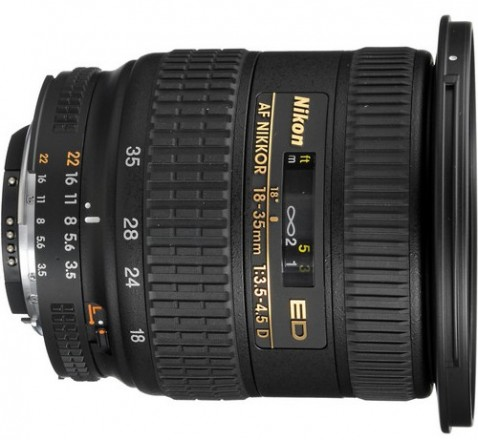 Nikon AF Zoom-Nikkor 18-35mm f/3.5-4.5D IF-ED Lens