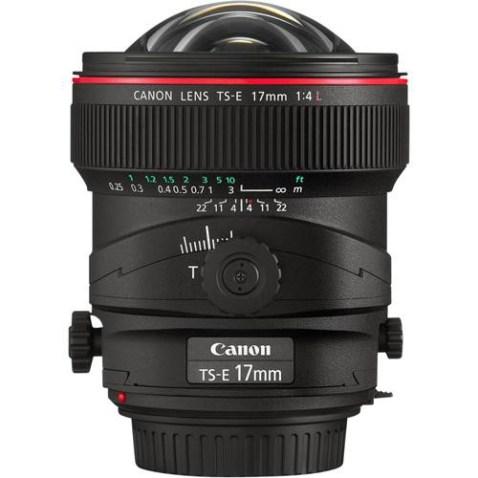 Canon TS-E 17mm f:4L Lens
