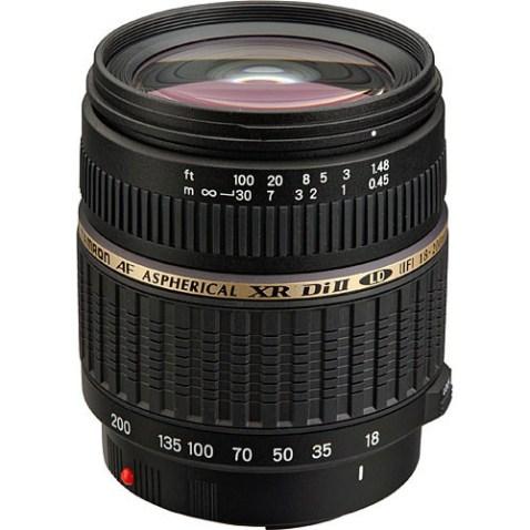 Tamron 18-200mm f:3.5-6.3 Di II Lens