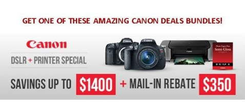 B&H Black friday Canon deals
