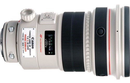 Canon EF 200mm f:2.0 L IS USM Lens