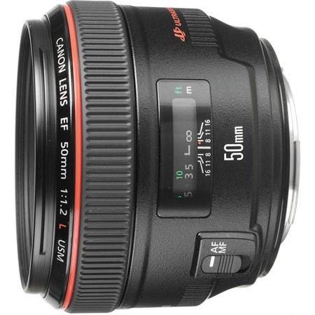 Canon EF 50mm f:1.2L USM
