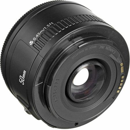 Canon EF 50mm f:1.8 II Lens-b