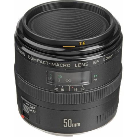 Canon EF 50mm f:2.5 Macro-a