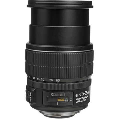 Canon EF-S 15-85mm f:3.5-5.6 IS USM Lens-b