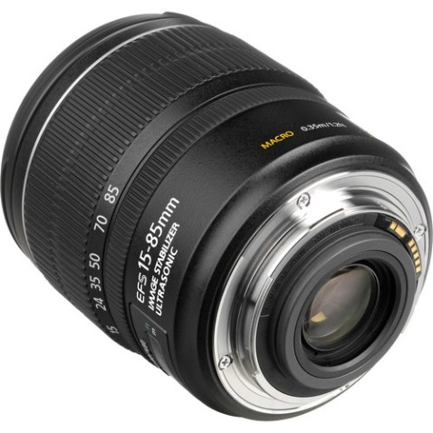 Canon EF-S 15-85mm f:3.5-5.6 IS USM Lens-d