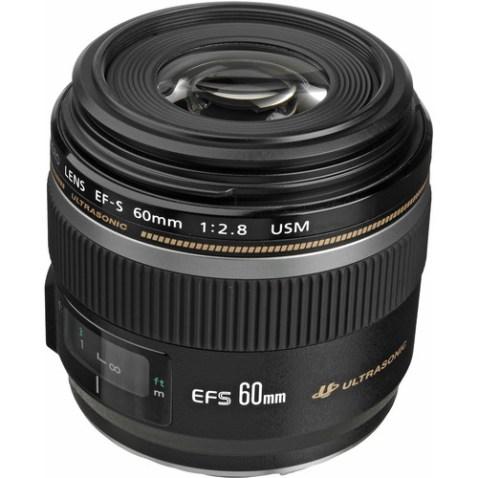 Canon EF-S 60mm f:2.8 Macro USM Lens