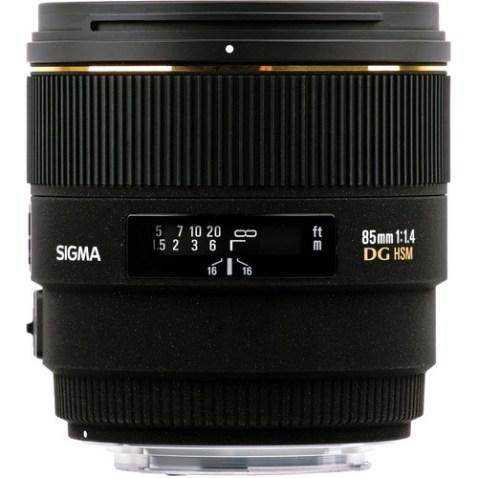 Sigma 85mm f:1.4 EX DG HSM 2
