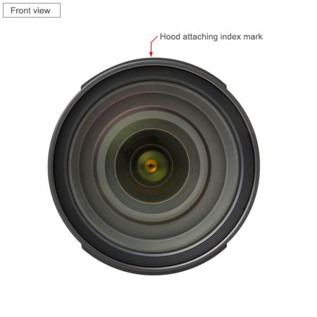 Tamron SP 24-70mm Di VC USD Lens front