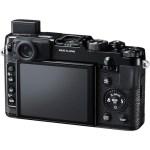 Fujifilm X10 Back LCD