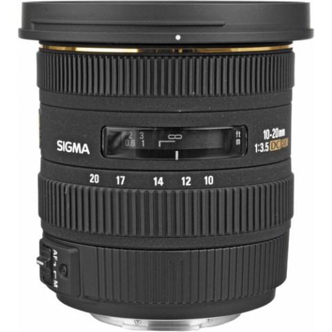 Sigma 10-20mm f:3.5 EX DC HSM