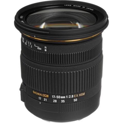 Sigma 17-50mm f:2.8 EX DC OS HSM Lens