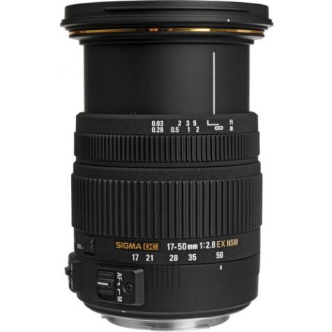 Sigma 17-50mm f:2.8 EX DC OS Lens