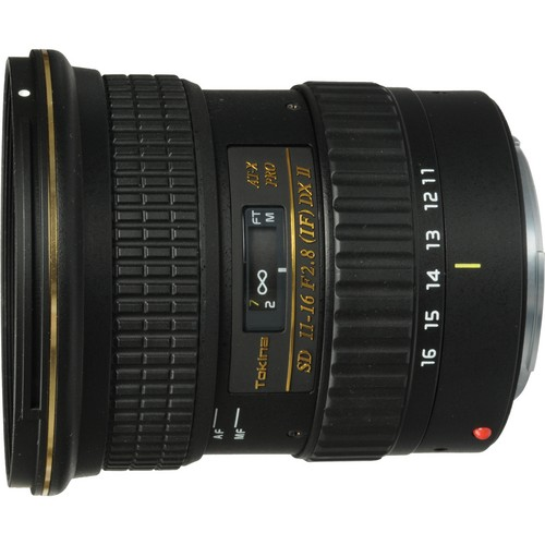 Tokina 11-16mm f:2.8 AT-X 116 Pro DX Lens (Canon Mount)
