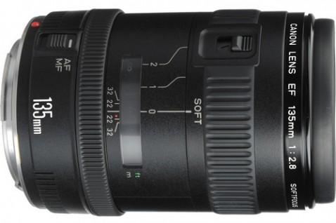 Canon EF 135 f/2.8 Soft Focus Lens