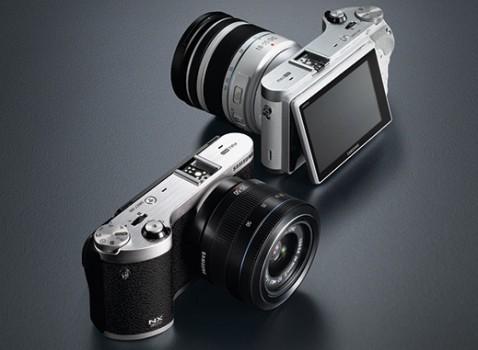 Samsung NX300-3D Camera