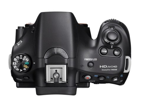 Sony SLT-A58 (top)