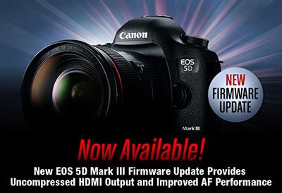 Canon EOS 5D Mark III Firmware 1.2.1