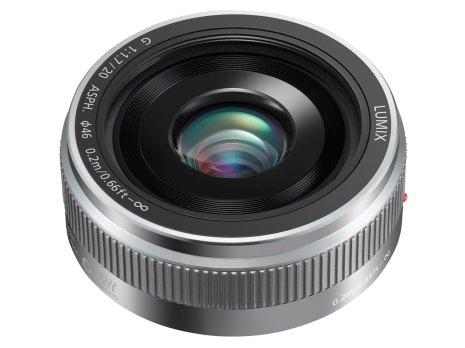 Panasonic LUMIX G 20 mm : F1.7 II ASPH - Silver