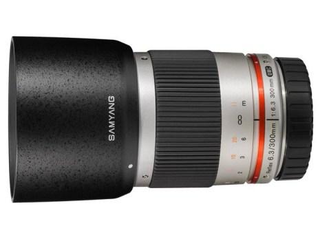 Samyang Reflex f:6.3 300mm ED UMC CS lens