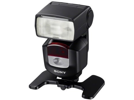 Sony HVL-F43M flash with stand
