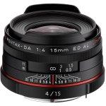 Ricoh HD PENTAX DA 15mm F4 ED AL Limited Black