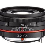 Ricoh HD PENTAX DA 21mm F3.2 AL Limited - Black