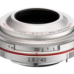 Ricoh HD PENTAX DA 40mm F2.8 Limited - Silver