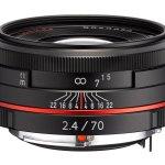 Ricoh HD PENTAX DA 70mm F2.4 Limited - Black