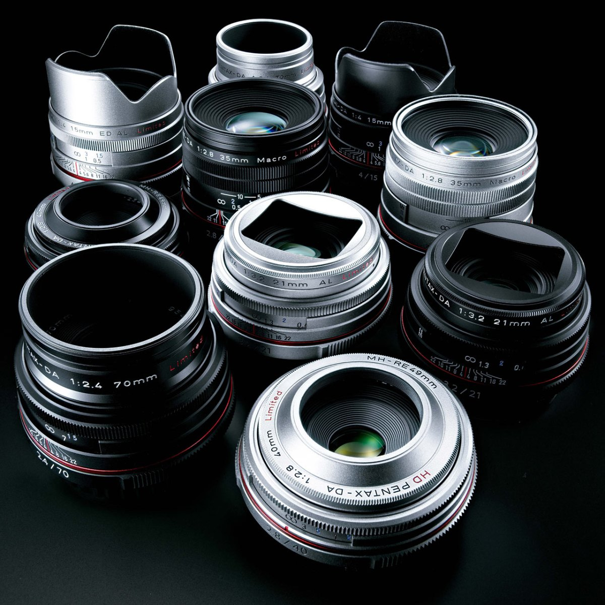 Ricoh HD PENTAX DA Limited Lenses