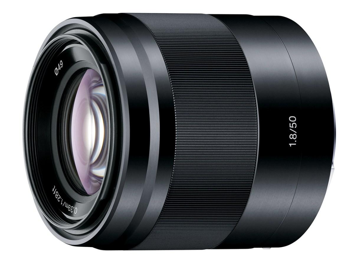 Sony E 50mm F1.8 Lens (Black)