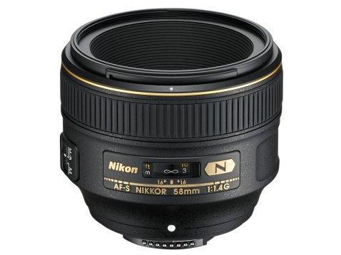 Nikon AF-S NIKKOR 58mm f:1.4G Lens