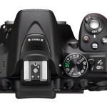 Nikon D5300 - Top