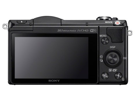 Sony Alpha a5000 (Back)