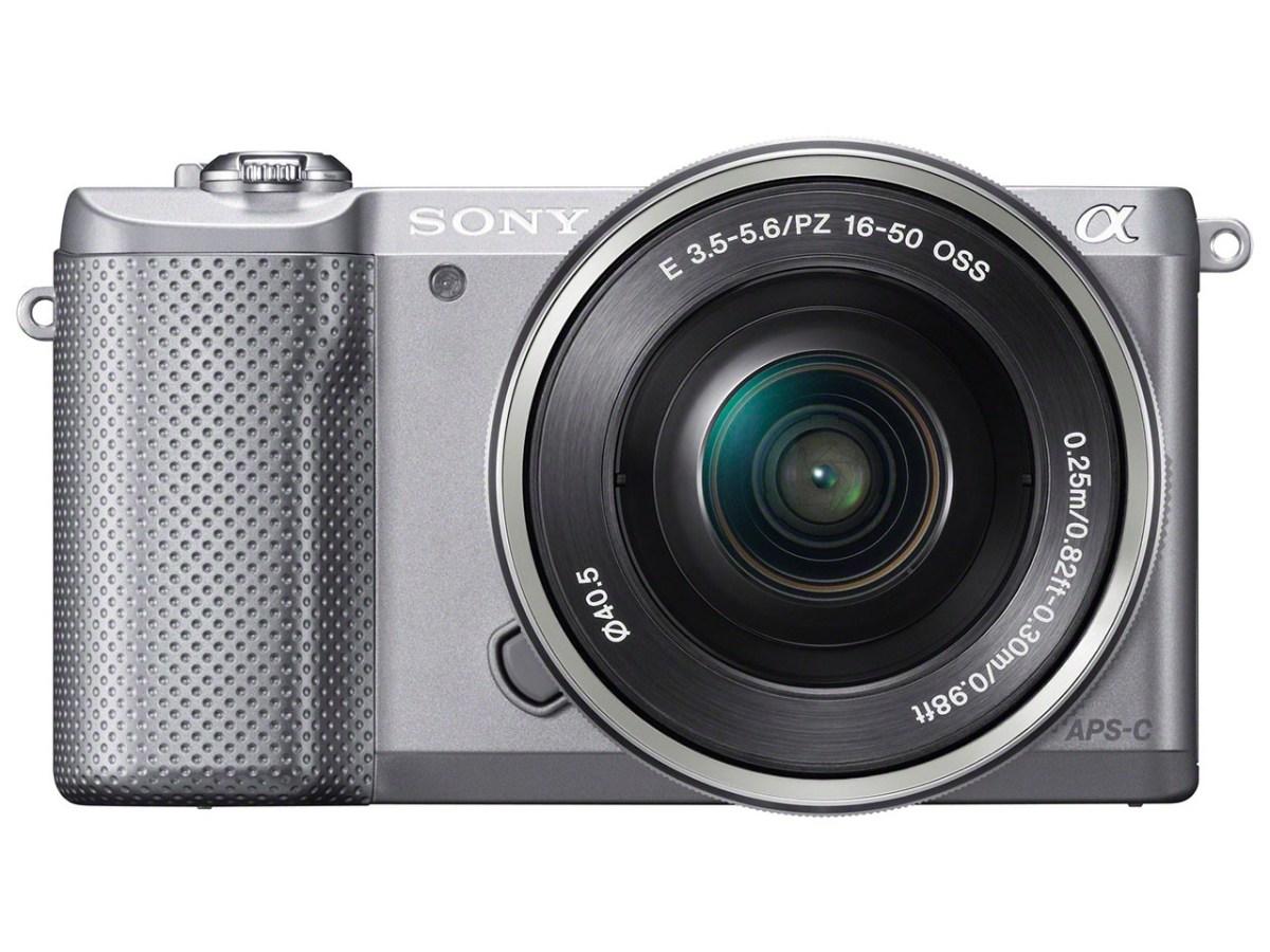 Sony Alpha a5000 (Silver)
