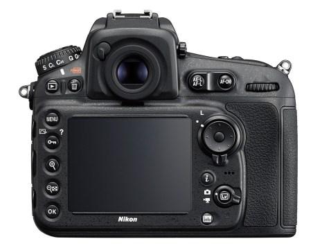 Nikon D810 - back