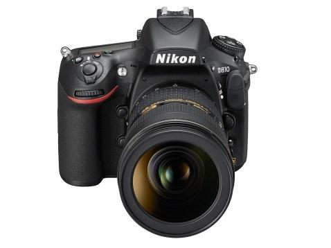 Nikon D810 - front face