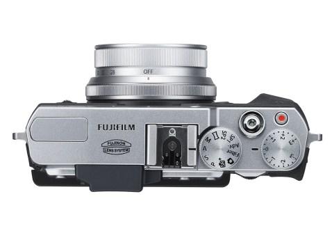 Fujifilm X30 - Top