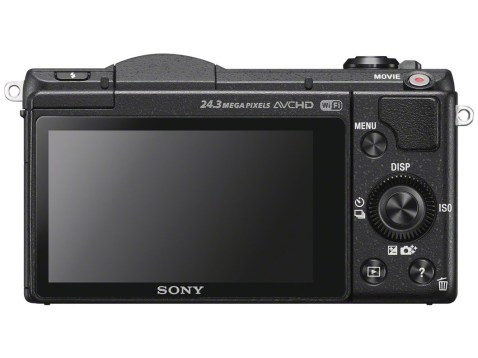 Sony Alpha a5100 - Back