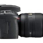 Nikon D750 - side