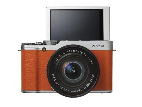 Fujifilm X-A2 (front)
