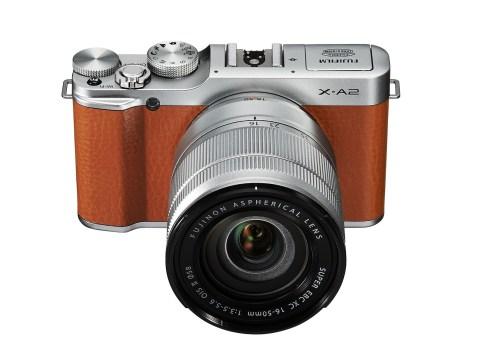 Fujifilm X-A2 (top)