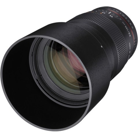 Samyang 135mm f:2.0 ED UMC Lens front