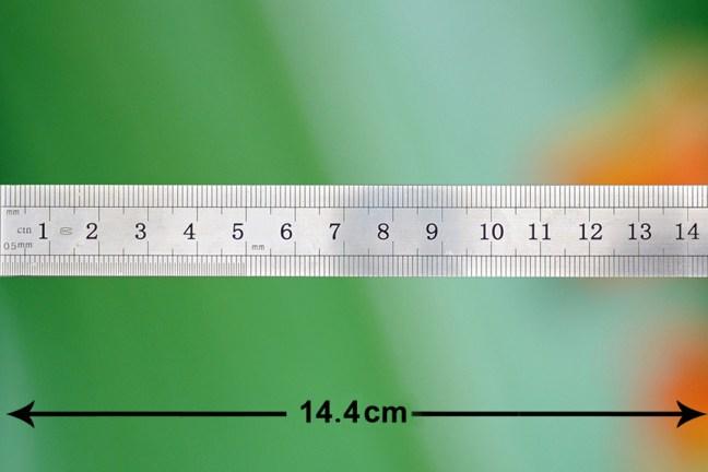 Ruler - 144 mm