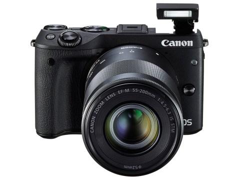 Canon EOS M3 Camera - Front