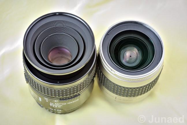 Construction of Micro lens vs Regular lens